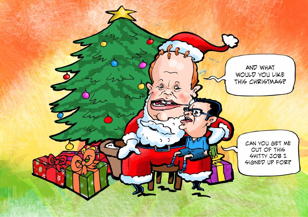 MaltaToday Cartoon: 24 December 2017