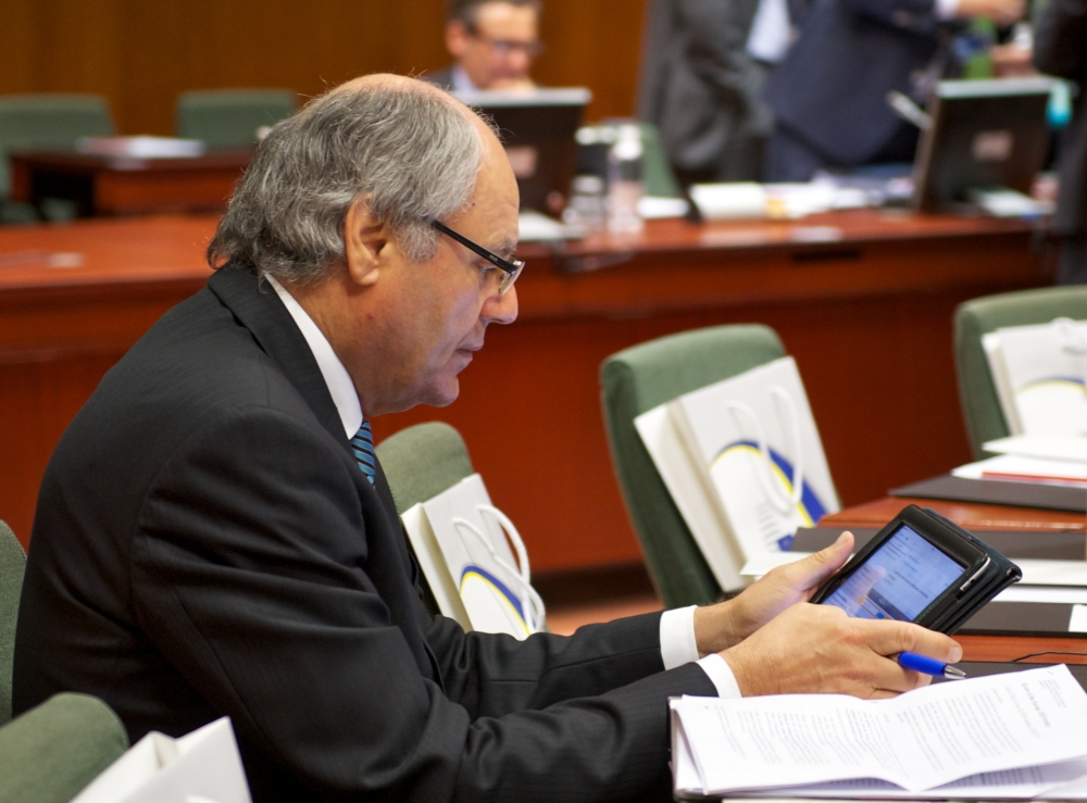 Scicluna fends off questions on Malta's tax rebate system from MEPs