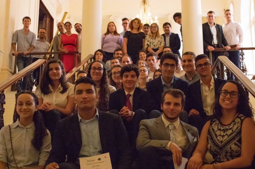Malta's finest business leaders give lucky youths job shadowing experience