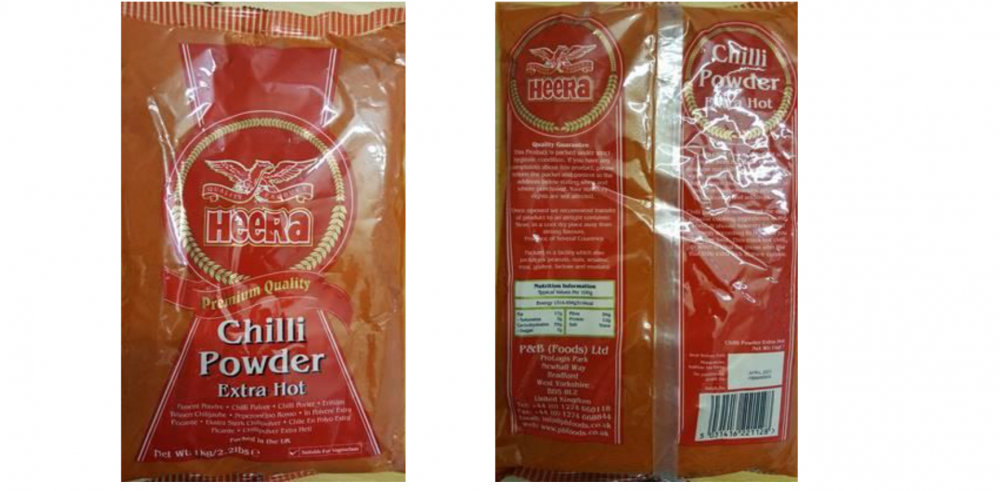 Health warning over Salmonella-contaminated chilli powder