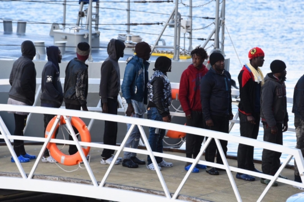 32 migrants rescued at sea test positive for COVID-19