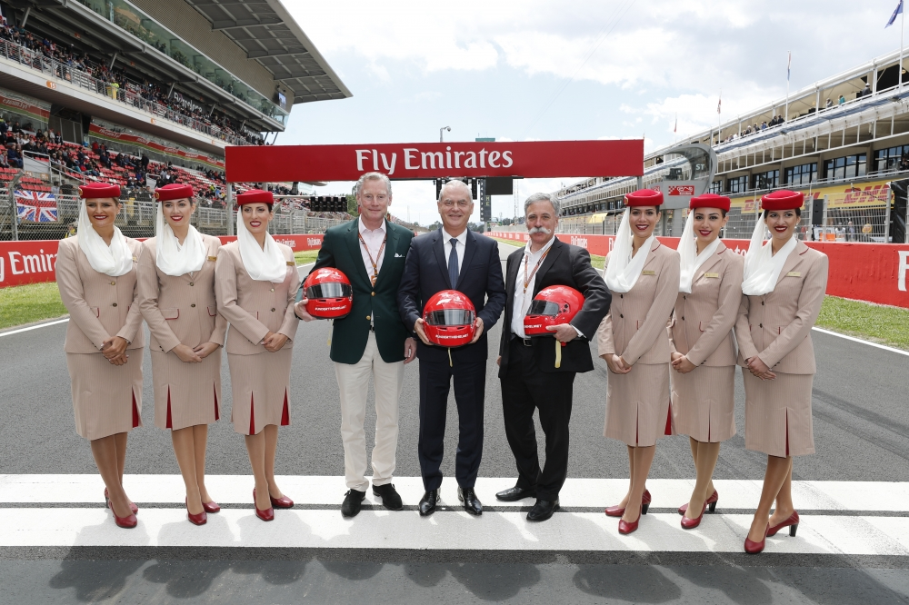 Emirates and Formula 1 renew Global Partnership