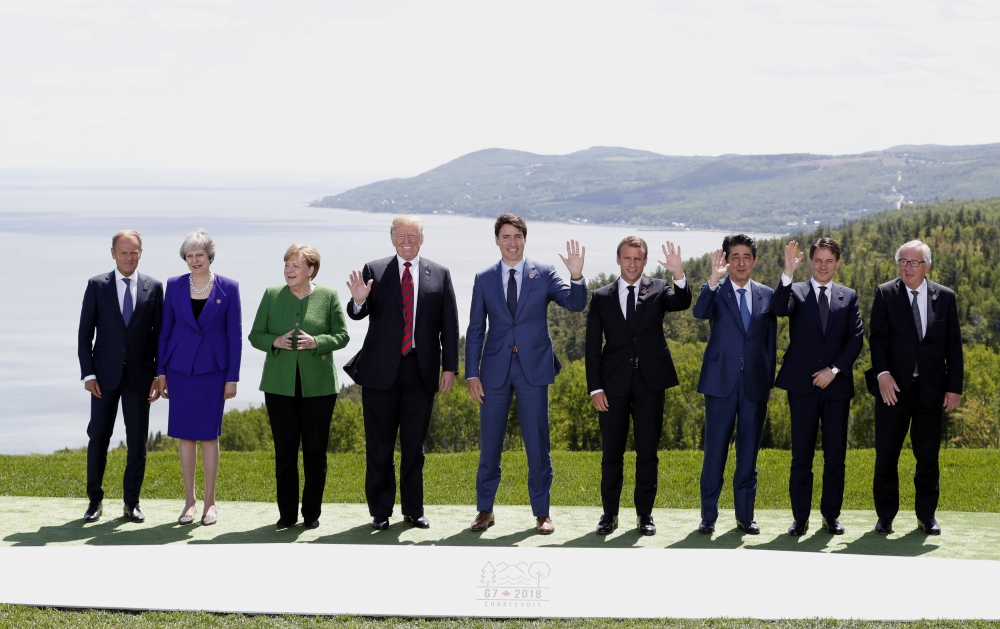Trump calls for Russia reinstatement as G7 summit enters final day