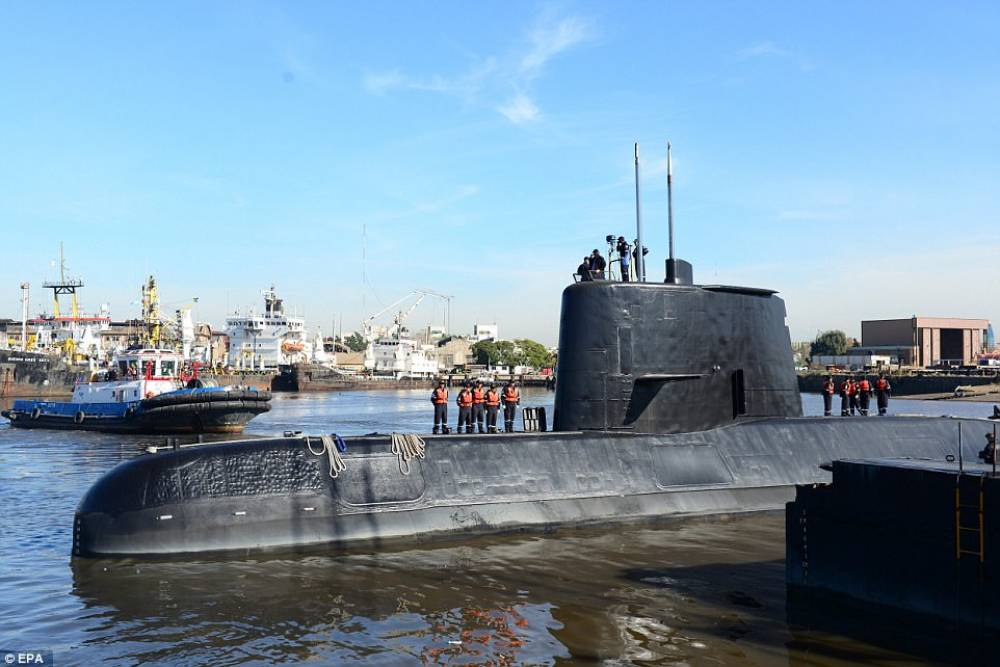 Argentina: water caused battery to short circuit in missing submarine
