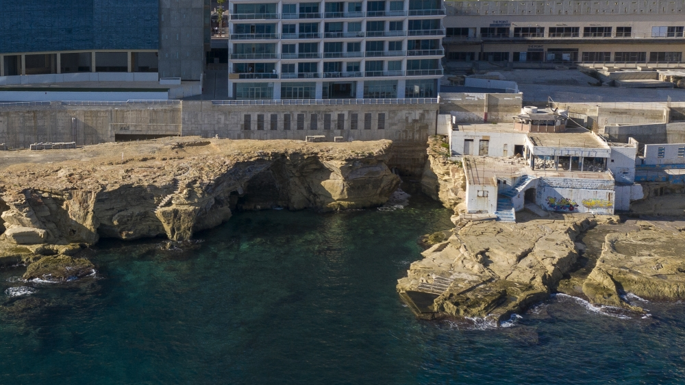 MIDI seeks coastal protection for tower block after cave collapse