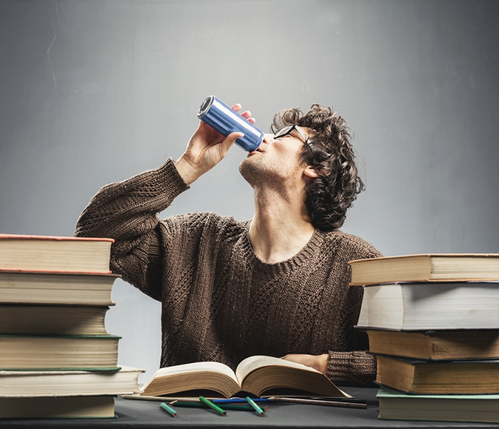 It gives you wings: med students say energy drinks are little helpers