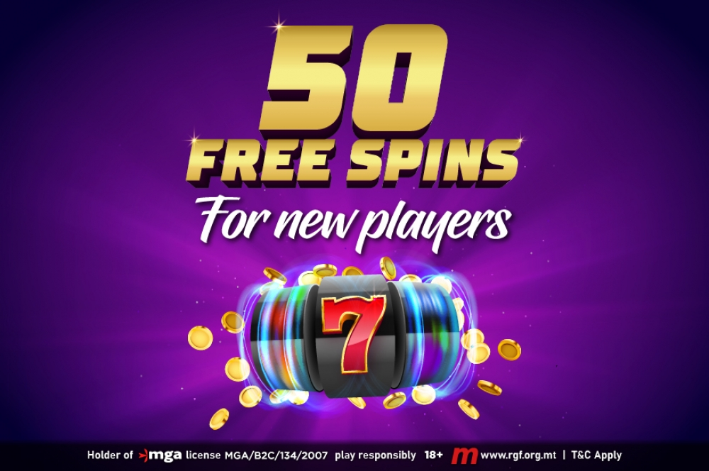 50 exclusive free spins if you're a Maltese resident