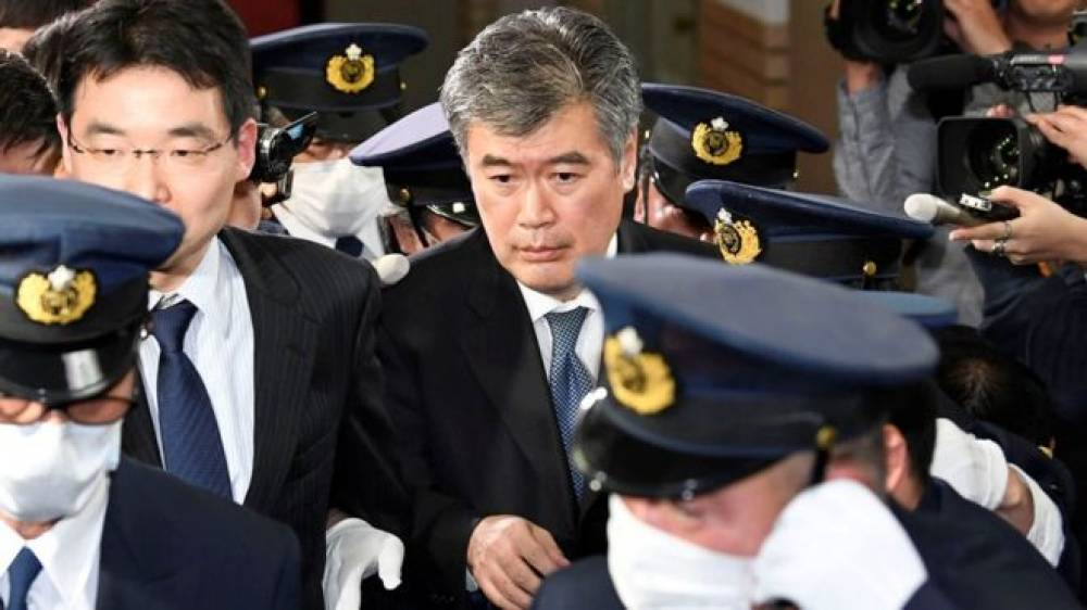 Top Japanese official resigns over sexual misconduct allegations