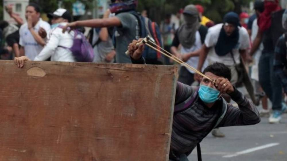 Journalist shot dead during live broadcast at Nicaragua protests