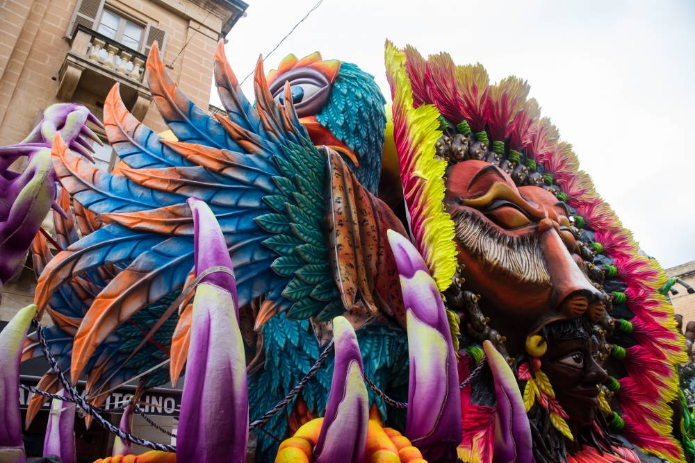 Head to Valletta this weekend for Carnival activities