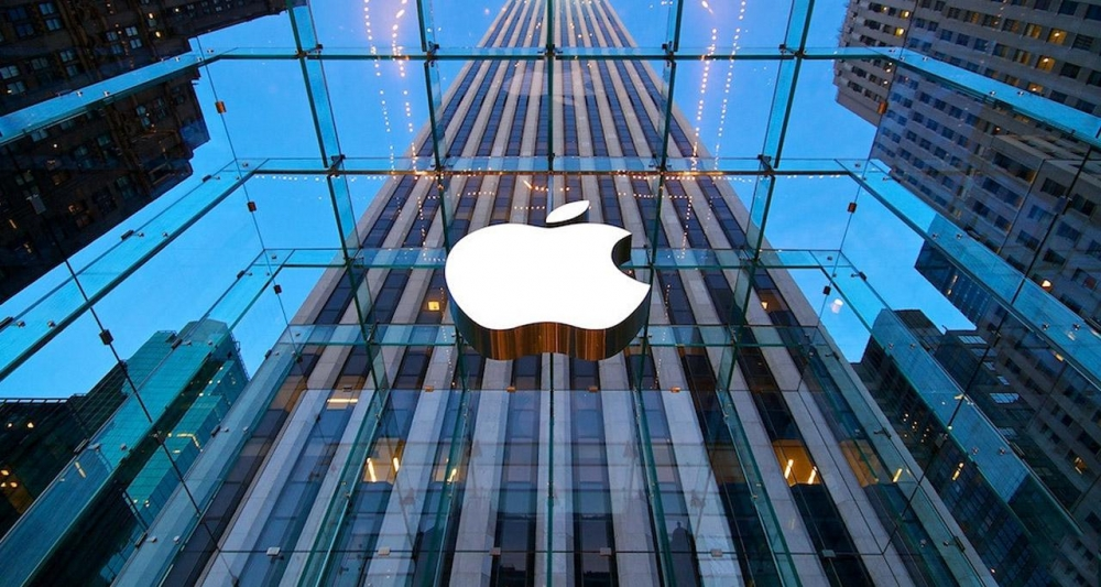 Apple records biggest quarterly results in history
