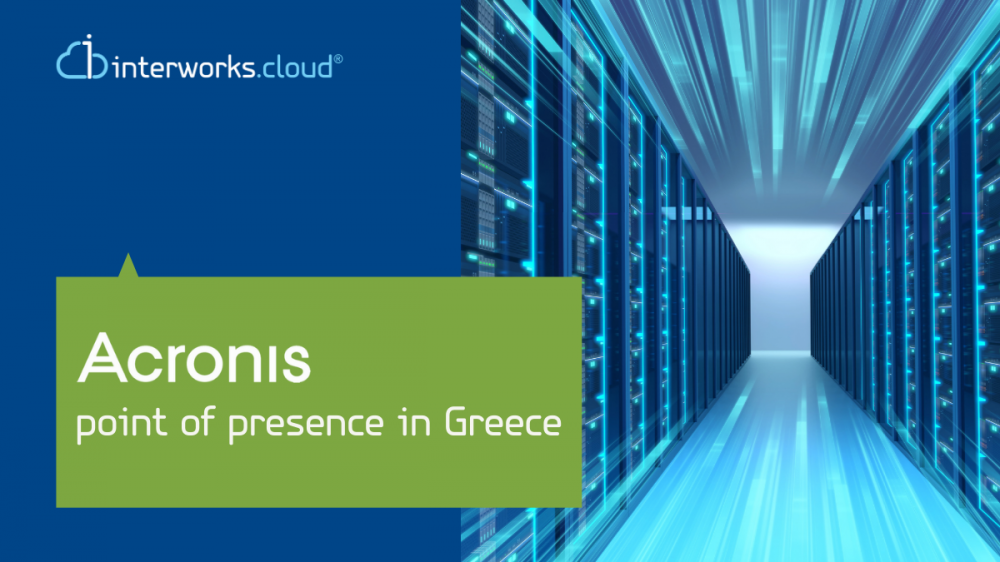 Acronis launches its cloud data centre in Greece