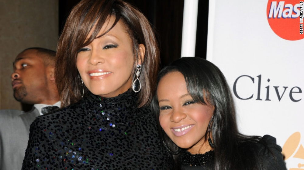 Whitney Houston's daughter found 'unresponsive' in tub