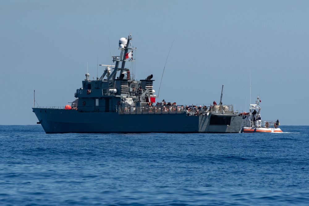 Migrants rescued by cargo ship refused disembarkation in Malta