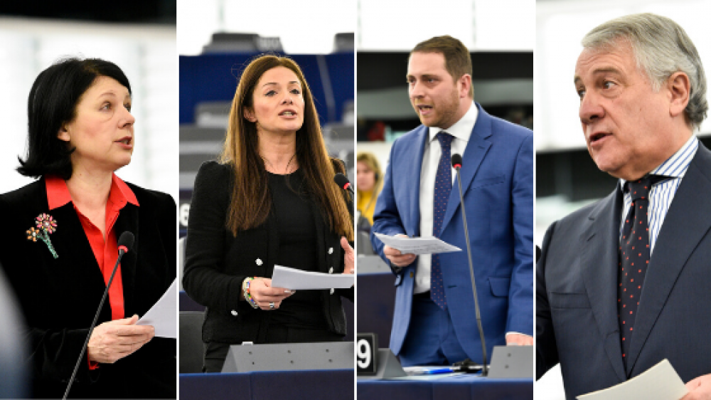 MEPs debate rule of law in Malta, Tajani calls for vote of 'no confidence' in Muscat