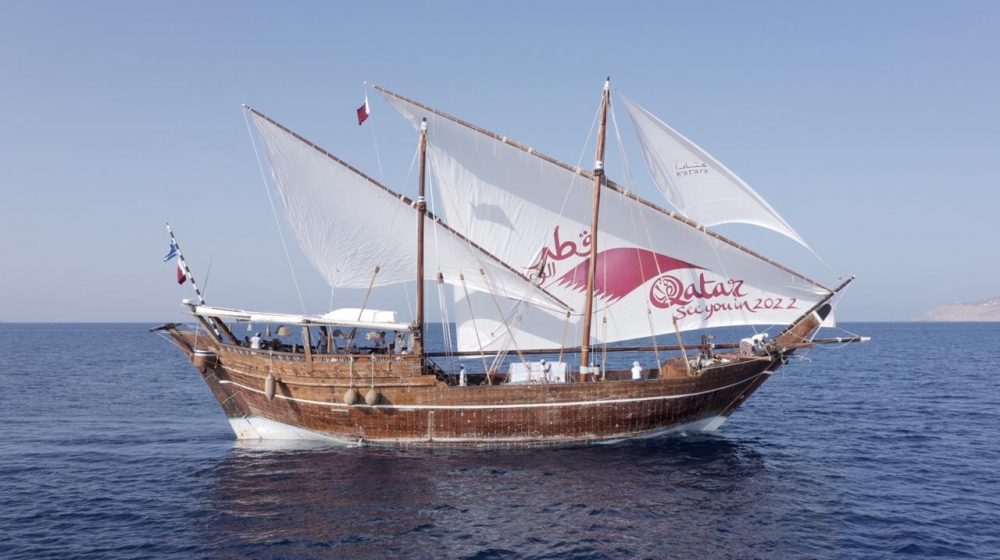Qatari dhow in Malta offers floating museum and 2022 World Cup presentation