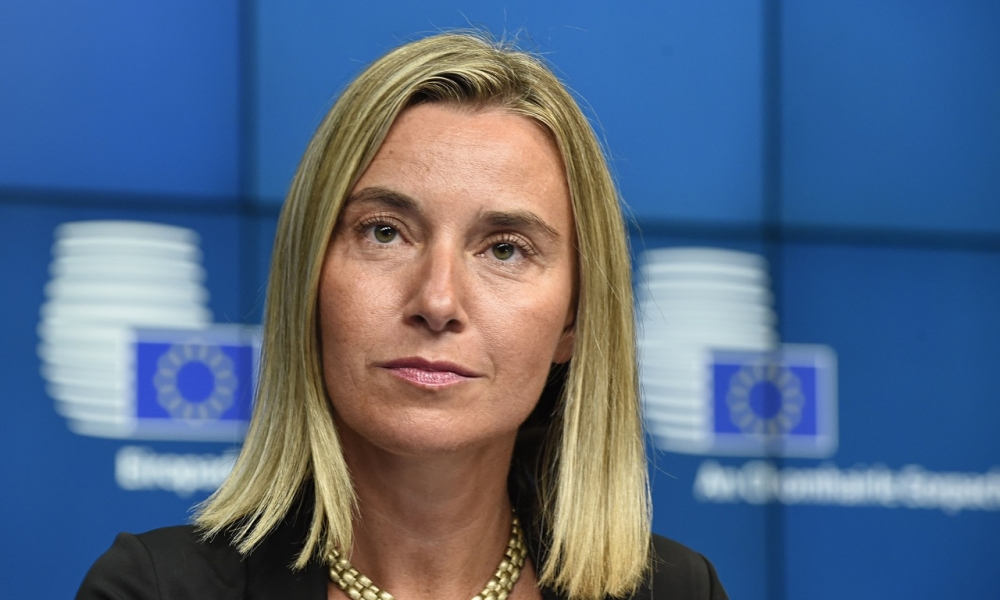 'Europe will not close its doors', Mogherini says building walls not the European way