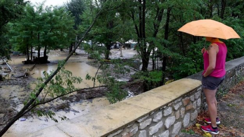 Man missing, 1,600 evacuated as heavy floods hit southern France