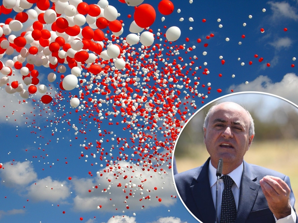 [WATCH] Balloons will be banned from public events in strategy to eliminate single-use plastic