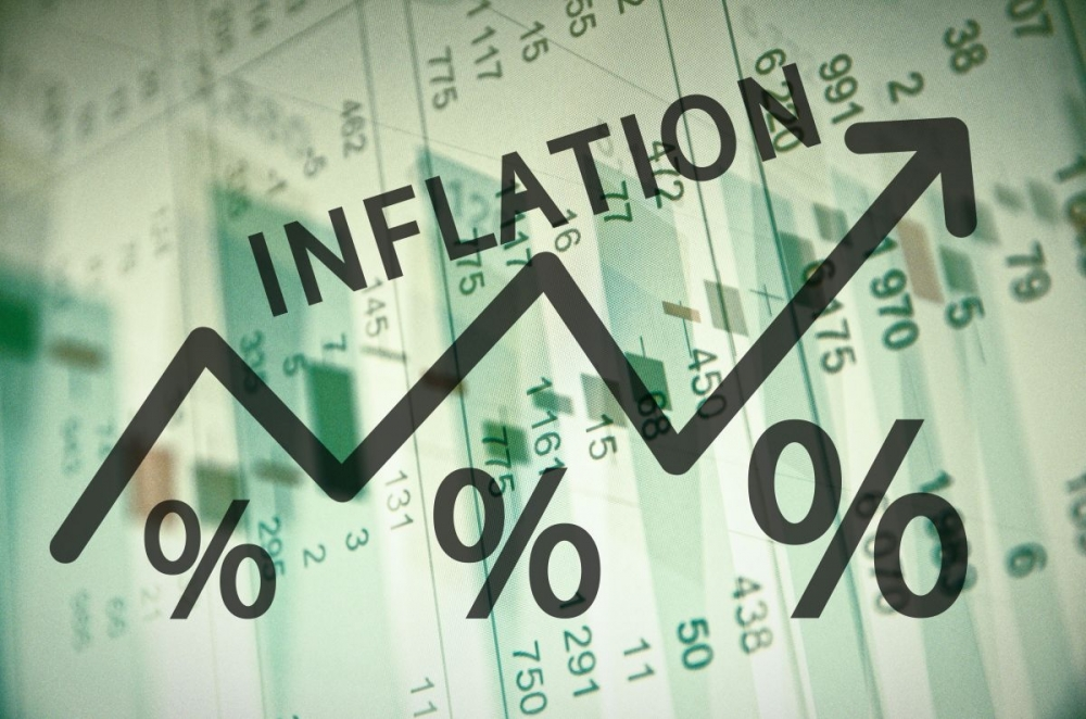 April annual price inflation rate up for food, down for clothing