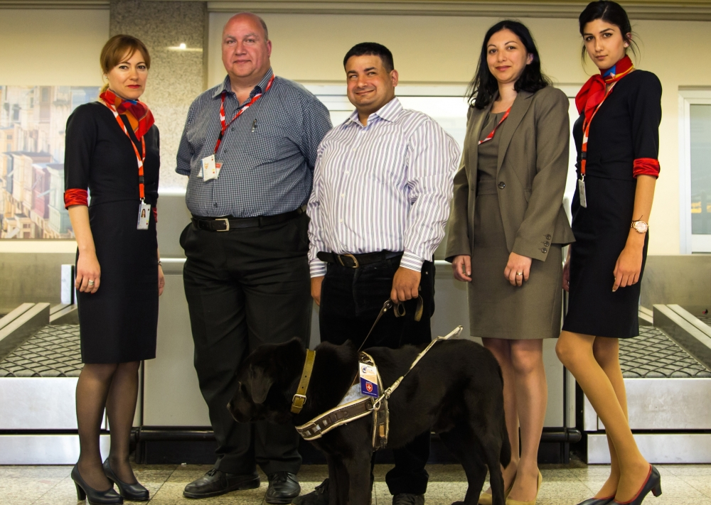Air Malta updated policy allows assistance dogs to travel with their owners