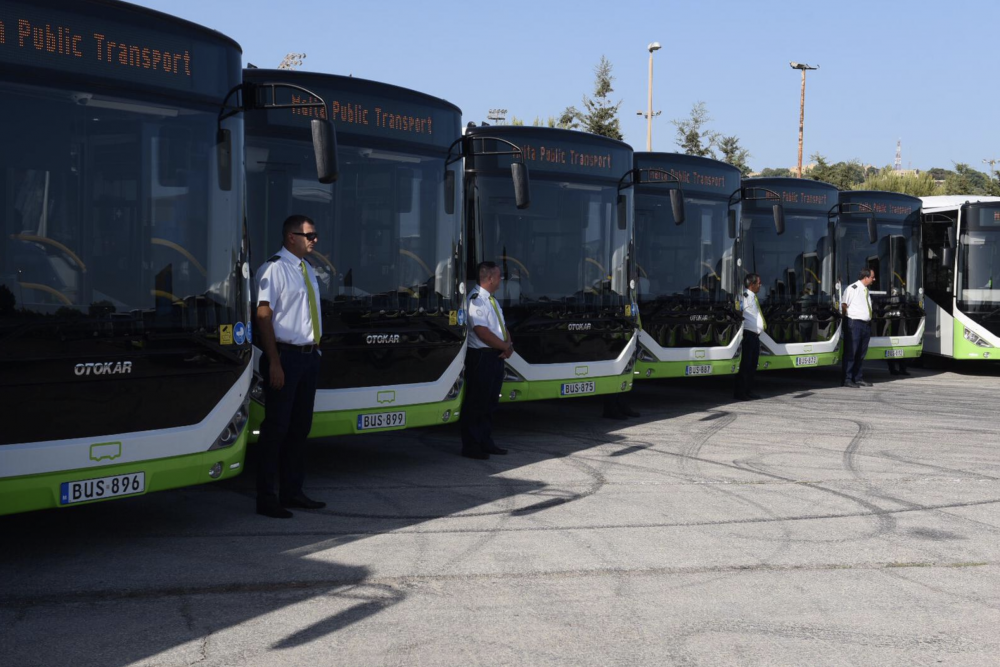 Updated | [WATCH] Malta Public Transport adds 40 buses to its fleet