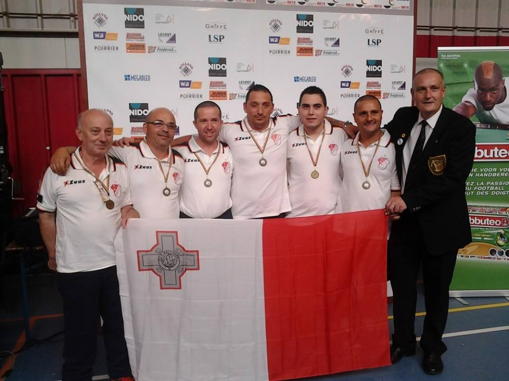 Malta wins bronze in table football world cup