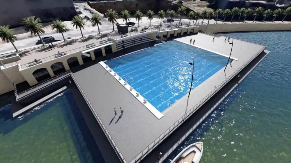 Marsaskala waterpolo pitch on reclaimed seabed gets planning permit