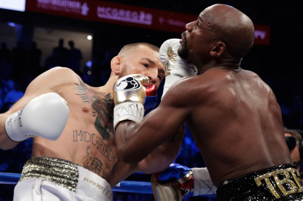 Mayweather vs McGregor: Floyd Mayweather the winner after 10 rounds in technical knockout