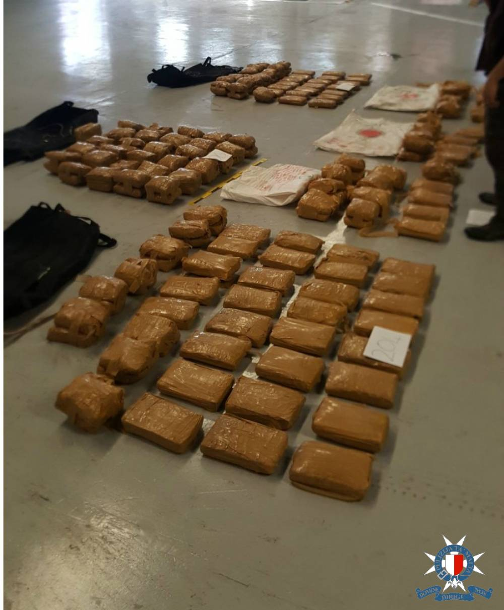 Malta police find 150kg of cannabis in merchant ship drug haul