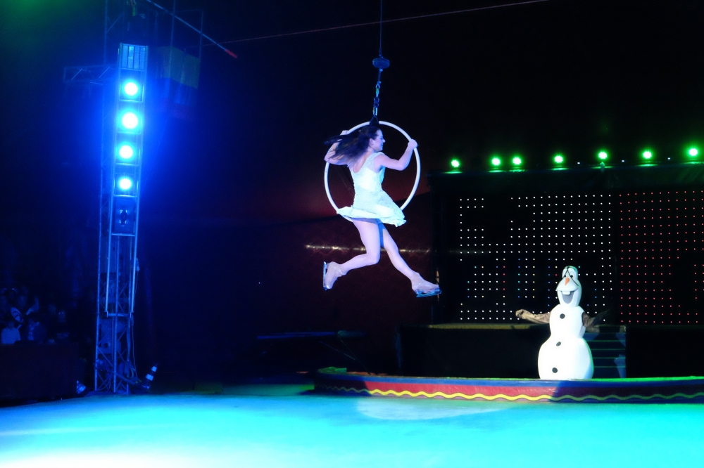 Animal-free circus meets ice arena