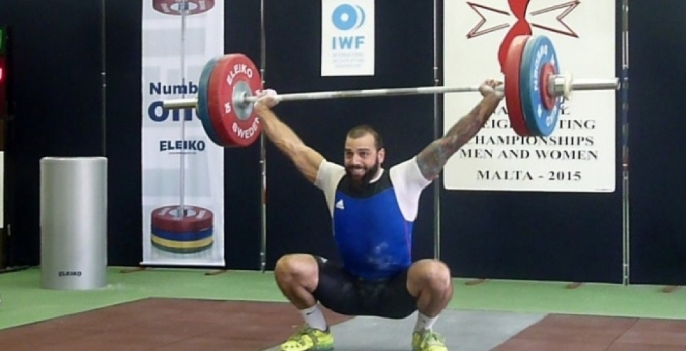 Micallef eliminated from men's 85kg weightlifting competition