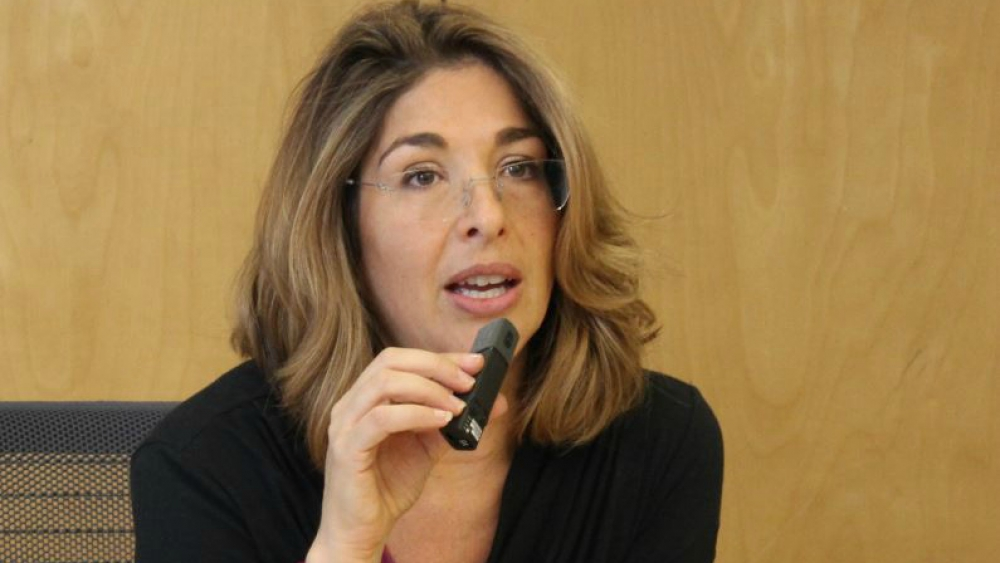 Naomi Klein in Malta speaks on climate change, and Daphne Caruana Galizia
