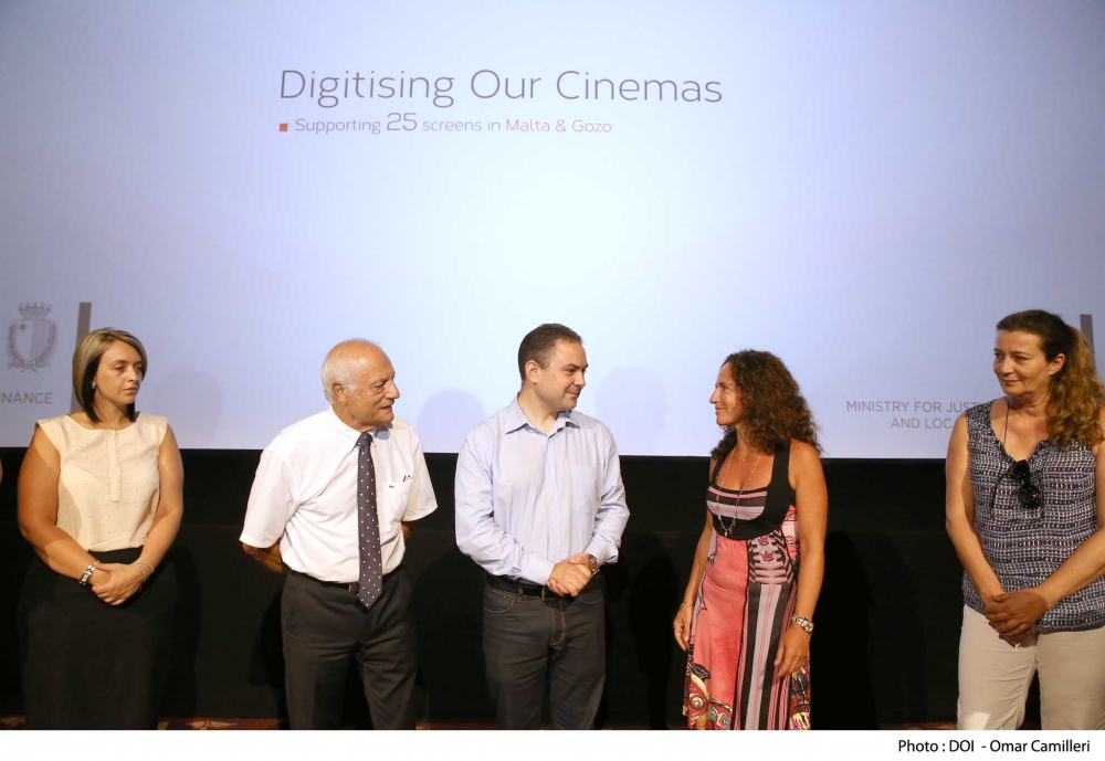 Cinemas upgraded through government investment