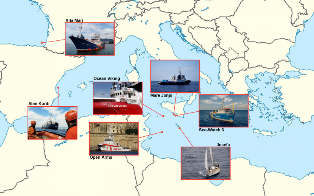 EXPLAINER | Migration: Where search and rescue NGOs are this week