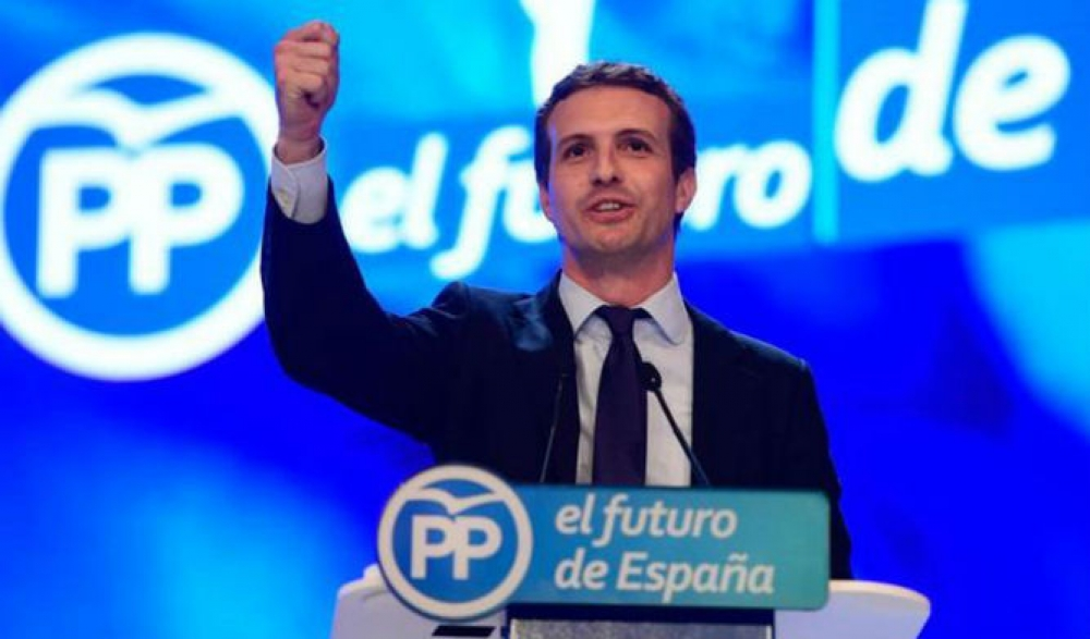 Spanish conservative Popular Party elects Pablo Casado as its new leader