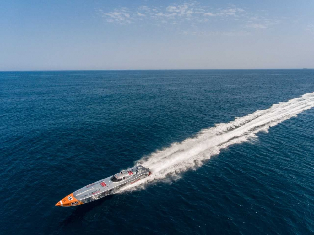 Powerboat team aiming to set new round-Malta world record