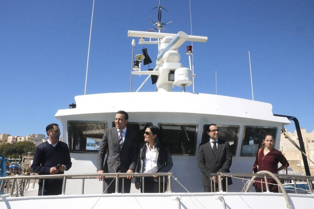 Seven new Vessel Monitoring Systems installed on Maltese boats