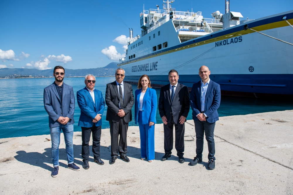 [WATCH] Updated | Fourth Gozo ferry expected to start operating in matter of days