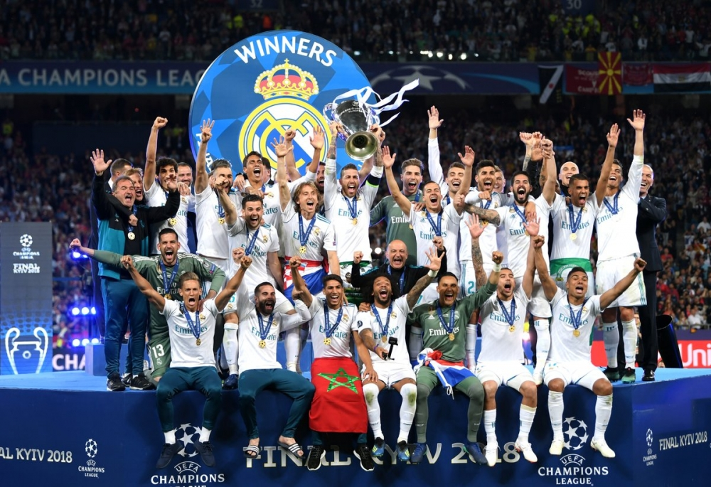 Real Madrid retain the UEFA Champions League