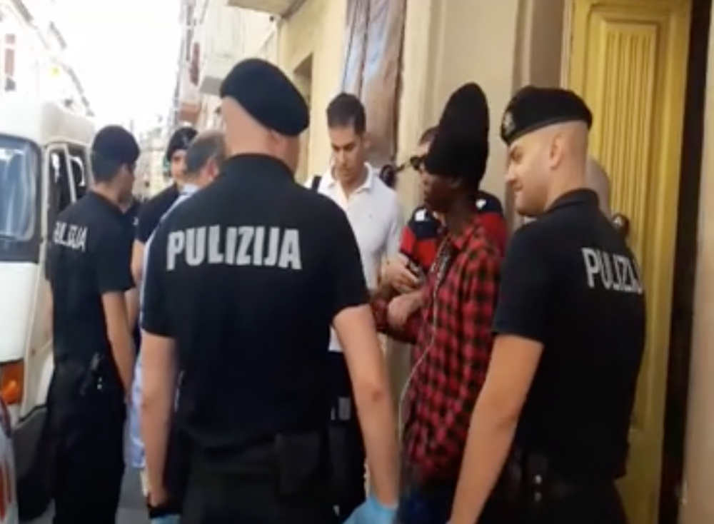 Several migrants unlawfully living in Hamrun building arrested