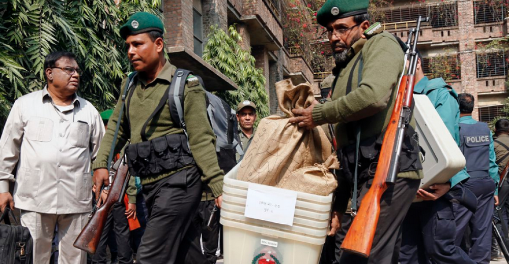 Elections in Bangladesh marred by violent clashes