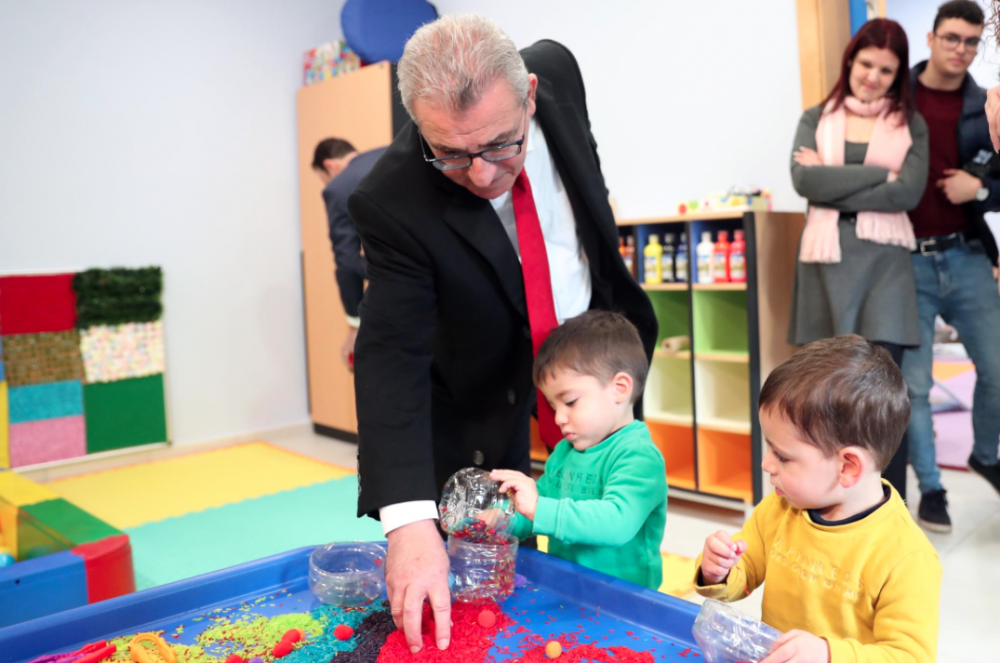 More than 15,800 children benefitting from free childcare services