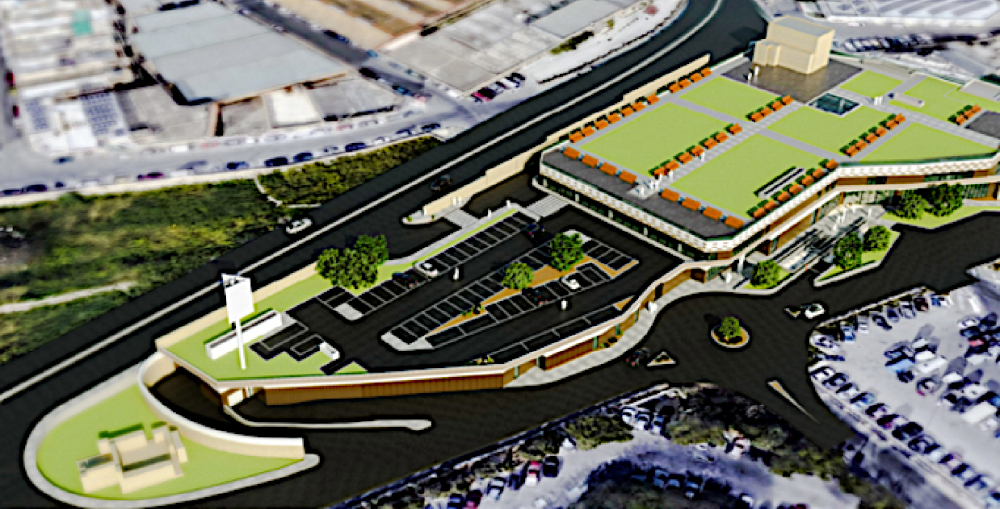 Qormi retail complex will lose landscaped roof