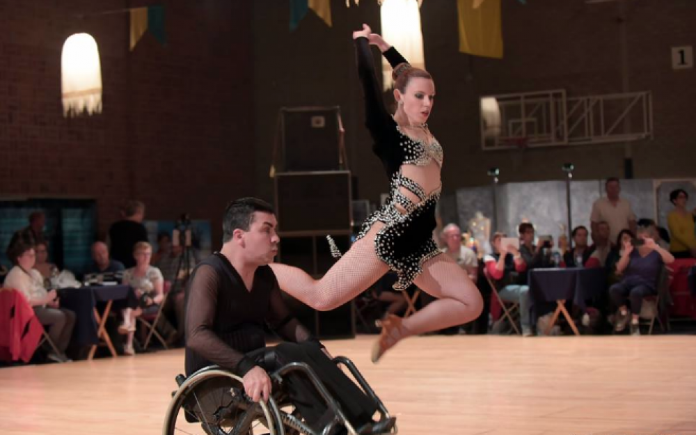 Maltese dance couple win wheelchair dancing competition in the UK