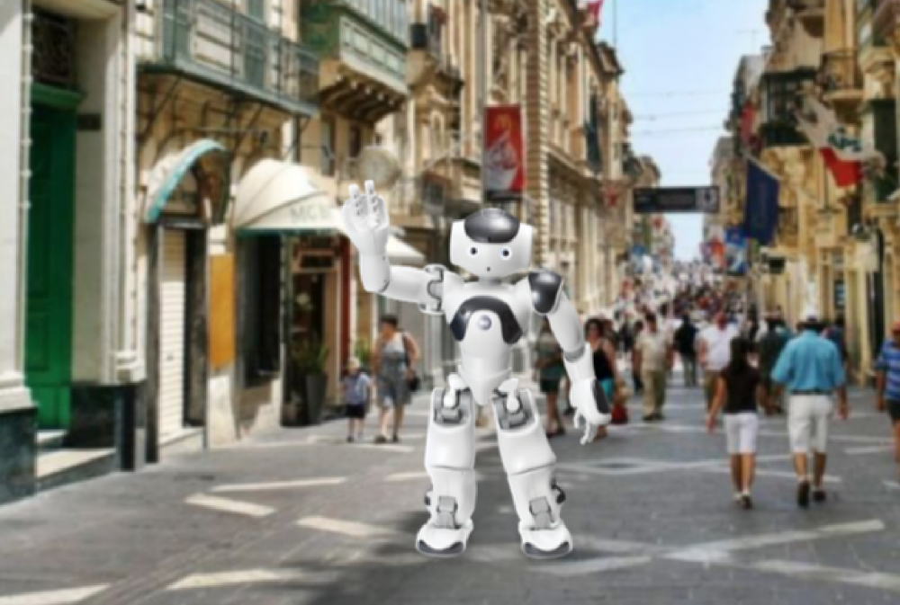 DELTA Summit: Tourists could be guided through Valletta's sites by a robot