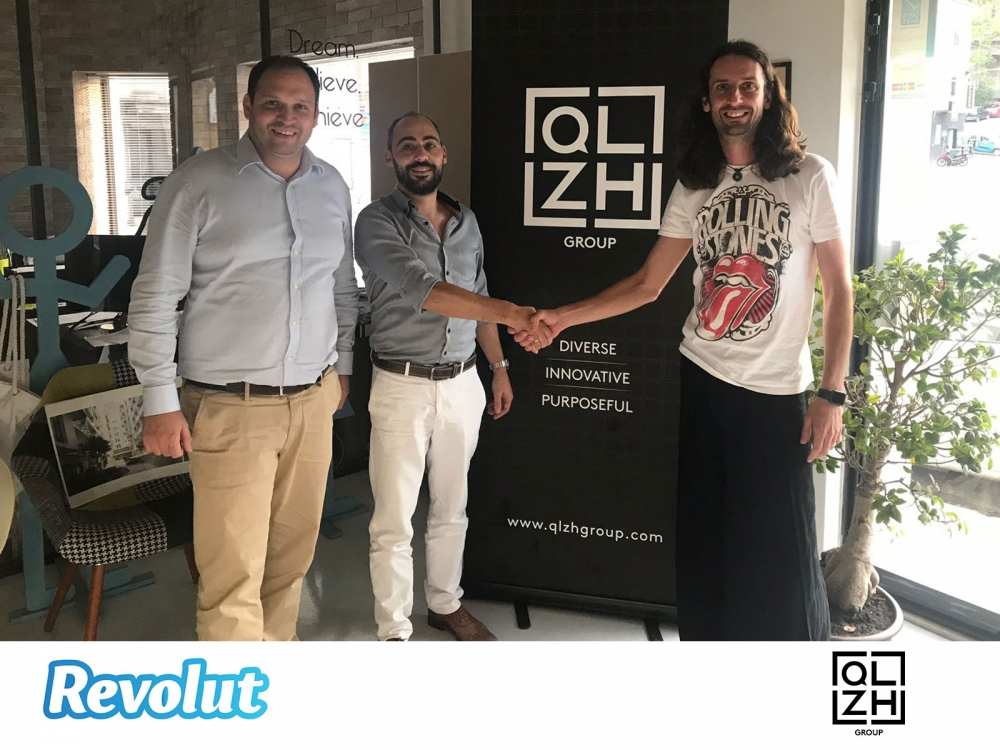 Quicklets and Zanzi Homes sign with Revolut