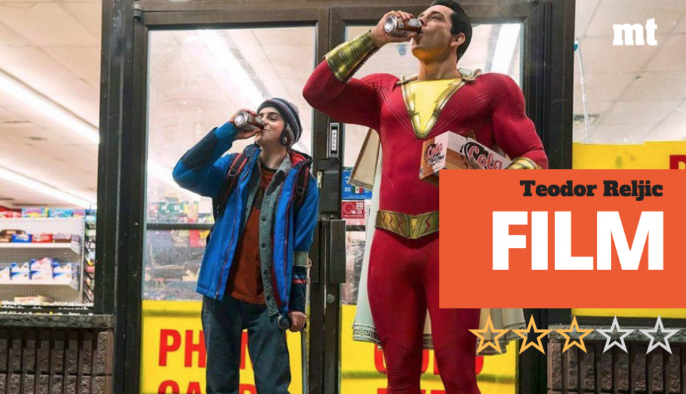 Film review | Shazam: Just say the word