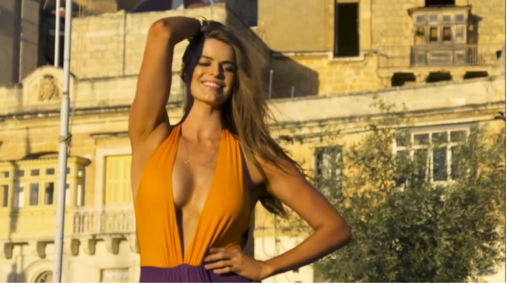 [WATCH] Phwoar! Sunny Malta welcomes sexy swimsuit models for Sports Illustrated shoot
