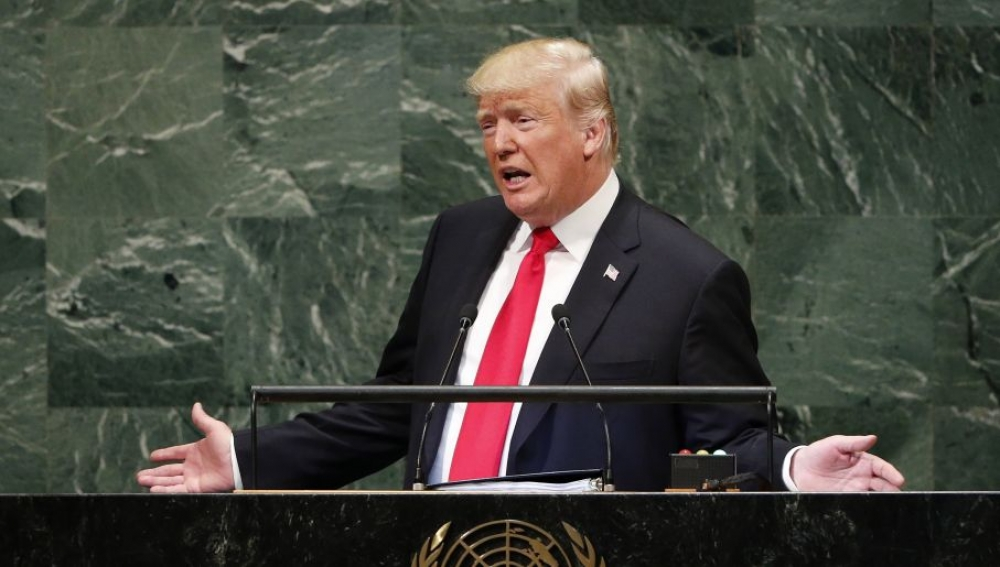 Trump sparks unintentional laughter from members of the UN General Assembly